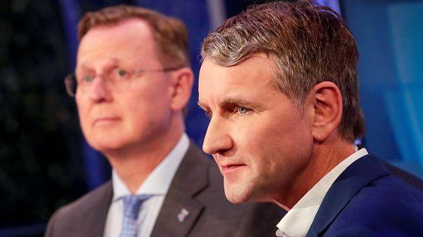 ХДС проигрывает выборы в Тюрингии левым и правопопулистам