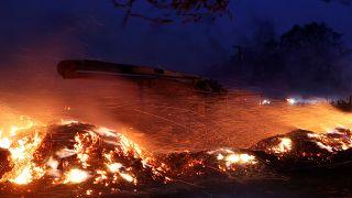 Californie : le « Kincade Fire » continue de sévir