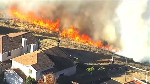 Evacuación masiva en California por los incendios
