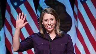 ABD Kongre üyesi Katie Hill yasak ilişki yüzünden görevinden istifa etti