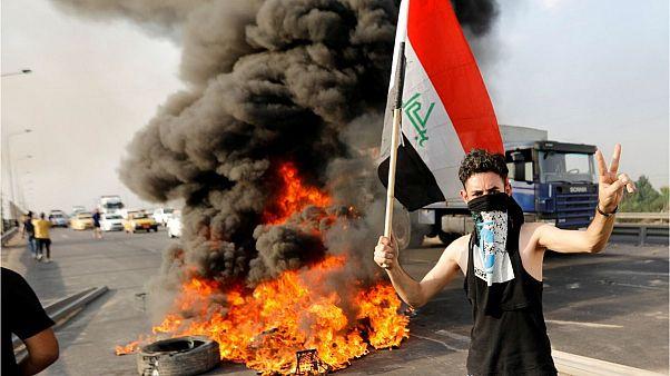 اعتراض در بغداد