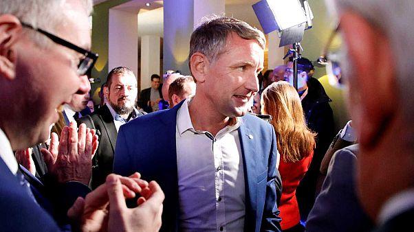 Percée de l'extrême droite lors des élections régionales allemandes en Thuringe