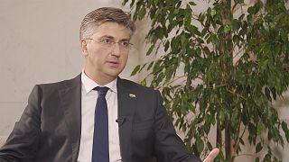 Hırvatistan Başbakanı: AB sınırlarını korumak için 6 bin 500 polis görevlendirdik