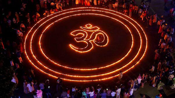 L'Inde célèbre Diwali, la fête des lumières hindoue
