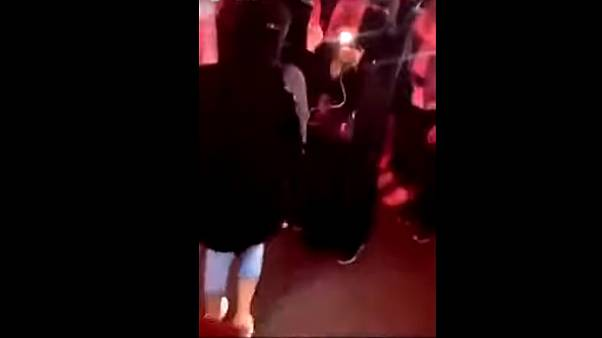 صورة ملتقطة من مقطع الفيديو المتداول على مواقع التواصل الاجتماعي