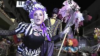Key West hosts fantasy parade during 10-day costume and mask festival
