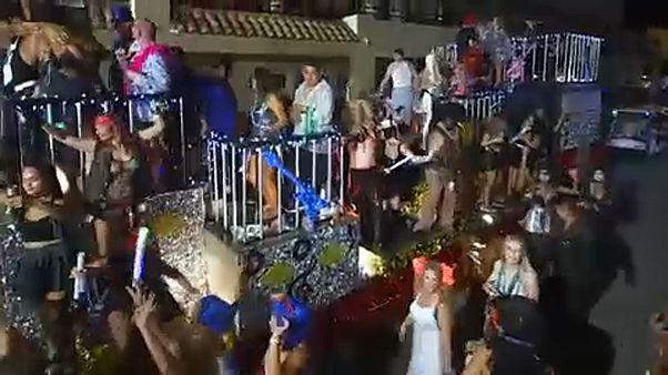 Fantasy-karnevál a floridai Key Westen