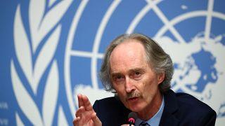 BM Özel Temsilcisi Türkiye, Rusya ve İran Dışişleri Bakanları ile Suriye'yi görüşecek
