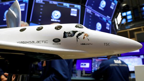 Virgin Galactic fait son entrée à la Bourse de New York