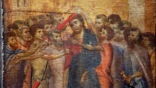 """The painting """"Christ Mocked"""", a long-lost masterpiece by Cimabue"""