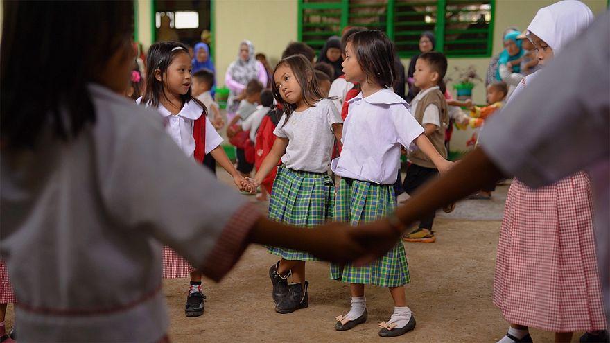 El duro retorno a la escuela tras el conflicto en Marawi