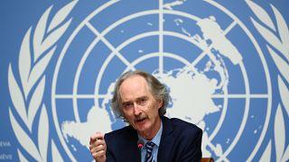 مبعوث الأمم المتحدة إلى سوريا غير بيدرسون