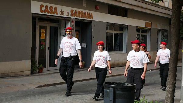 Barcelona: az őrangyalok is beszálltak a rendfenntartásba