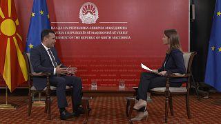Ζάεφ στο euronews: Το «όχι» στις ενταξιακές διαπραγματεύσεις επηρεάζει τη Συμφωνία των Πρεσπών