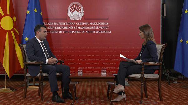Minden egyezséget az uniós tagsághoz köt az észak-macedón miniszterelnök