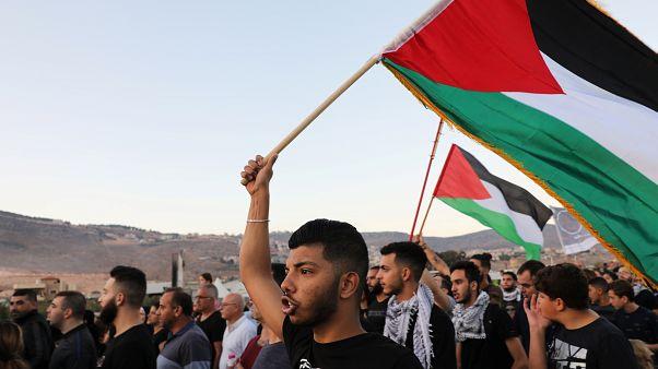 مرشّحون ديمقراطيون يتعهّدون بالضغط على إسرائيل لقيام دولة فلسطينية