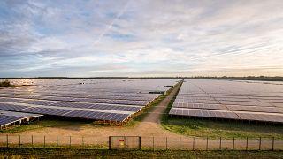 Cestas solar plant, near Bordeaux, France