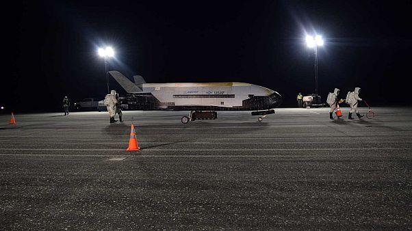 Un vaisseau de l'US Air Force a passé deux ans en orbite