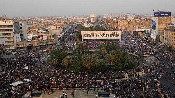 Антиправительственные протесты в Багдаде