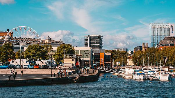 Bristol's harbourside is buzzing with shops, bars, and cafes