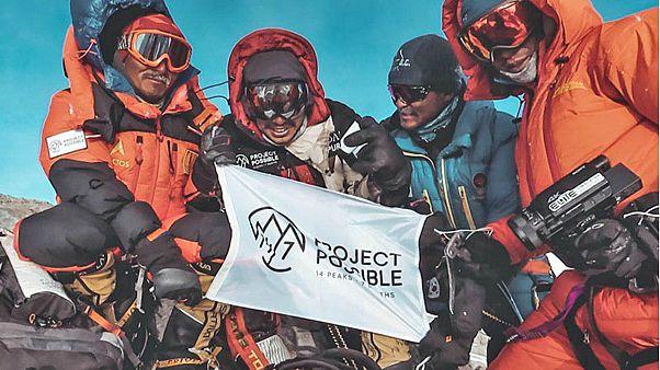 رکورد شگفت انگیز کوهنورد نپالی؛ فتح ۱۴ قله بالای ۸ هزار متر در هفت ماه