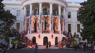 هالووین؛ ترامپ میزبان کودکان در لباس قهرمانهای کارتونی در کاخ سفید