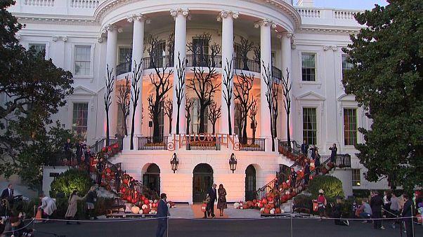 Gruseliger Besuch im Weißen Haus