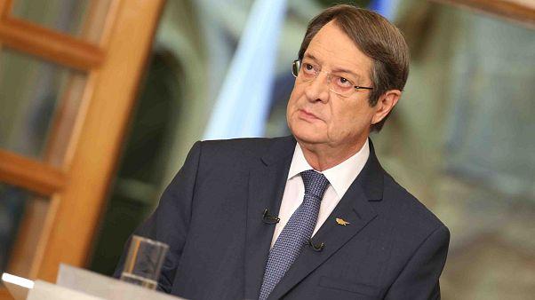 Ο Πρόεδρος της Δημοκρατίας κ. Νίκος Αναστασιάδης παραχωρεί διακαναλική συνέντευξη Τύπου με θέμα τις τελευταίες εξελίξεις στο Κυπριακό.