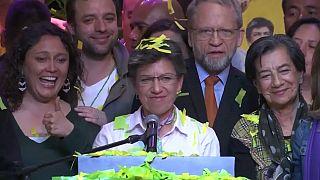 Une femme élue maire de Bogota pour la première fois en Colombie