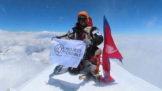 """Nirmal Purja """"roi de l'Himalaya"""" : 14 sommets de 8 000 m conquis en 6 mois"""