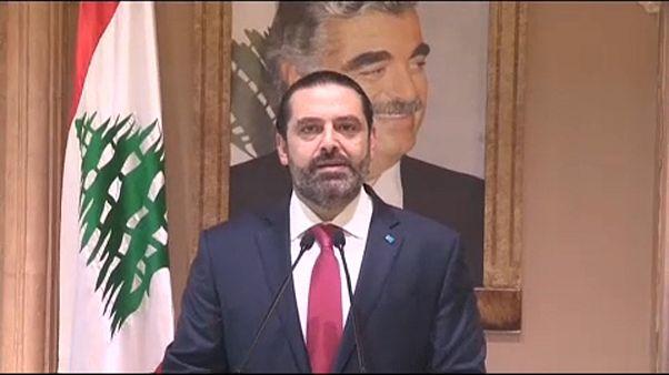 Bejelentette lemondását Szaad Haríri libanoni miniszterelnök