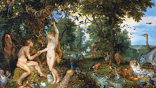 Peter Paul Rubens ile Jan Bruegel tarafından resmedilen 'Cennet Bahçesi'