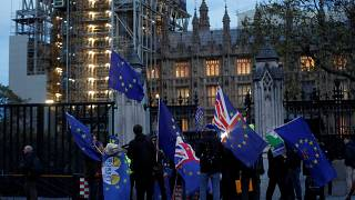 Londres, Westminster, le 29/10/2019.