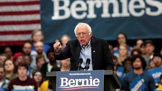 Senatör Sanders 2020 başkanlık seçimleri kampanyası için Detroit'de