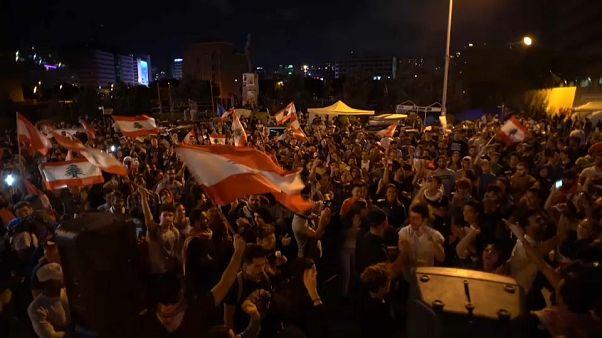 Libanon-Krise: Massenproteste trotz Rücktrittsankündigung
