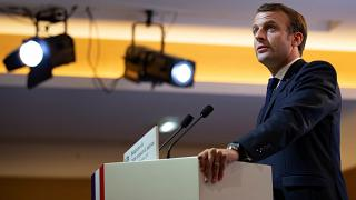 Macron condemns those who use secularism to 'sow hatred and division'