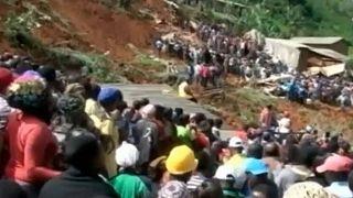 Kamerun'da heyelan: 26'sı çocuk en az 42 kişi hayatını kaybetti