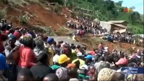 Glissement de terrain meurtrier au Cameroun