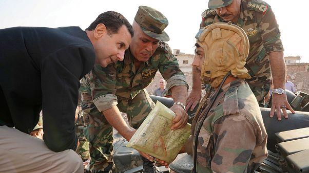 للمرة الأولى النظام السوري والمعارضة في حوار على طاولة مفاوضات جنيف