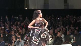 Watch: Models get a taste for the sweet at Paris Chocolate Fair
