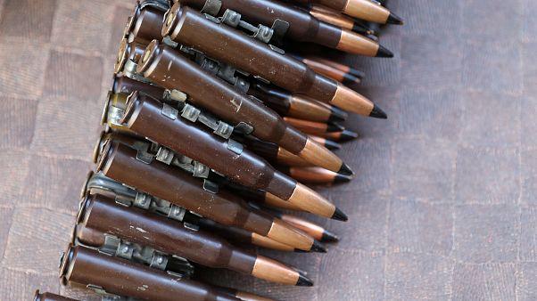 Libya'da hükümet güçlerine ait mermiler