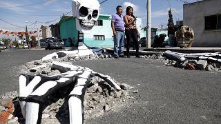 """""""Tag der Toten"""": Fest der Skelette"""