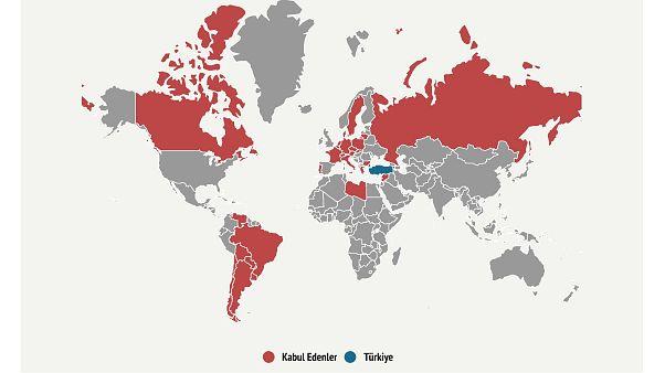 Ermeni soykırımı iddialarını kabul eden ülkeler