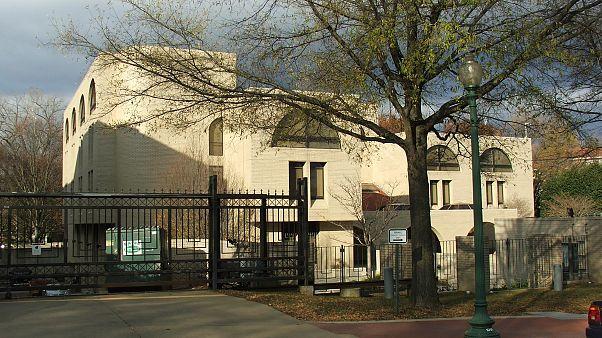 السفارة الإسرائيلية في الولايات المتحدة الأميركية