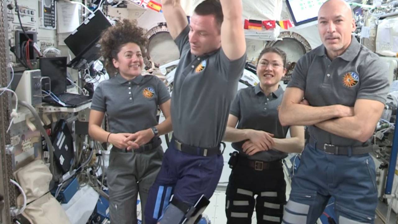 All-female spacewalk crew make history