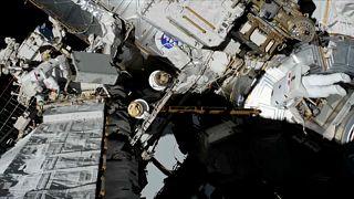 گزارشهای یورونیوز از ایستگاه فضایی؛ همراه با زنان فضانورد