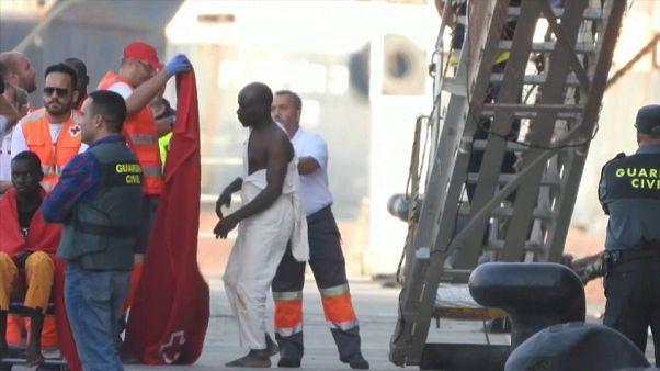 Cuatro migrantes muertos y 29 rescatados frente a las costas de Gran Canaria