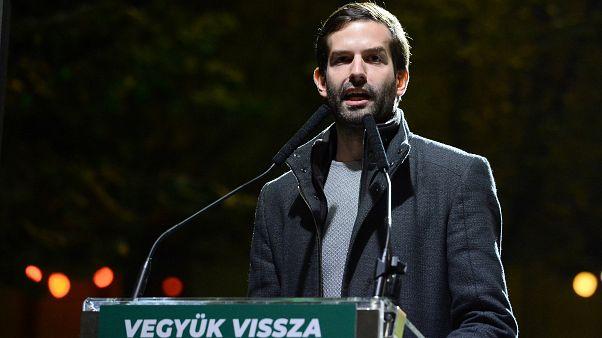 Fekete-Győr András, a Momentum Mozgalom elnöke