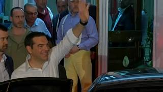 Greek Prime Minister Alexis Tsipras announces early general elections
