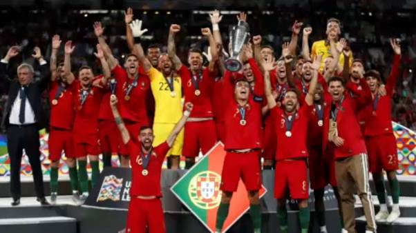 Portugal beat Netherlands 1-0 to win first ever UEFA Nations League